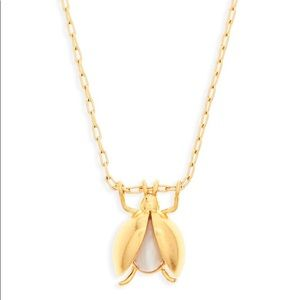 Lovebug Pendant Necklace